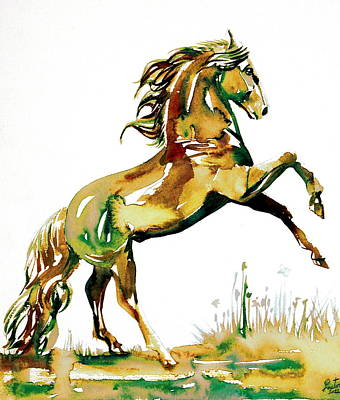 Painting - Horse Painting.38 by Fabrizio Cassetta