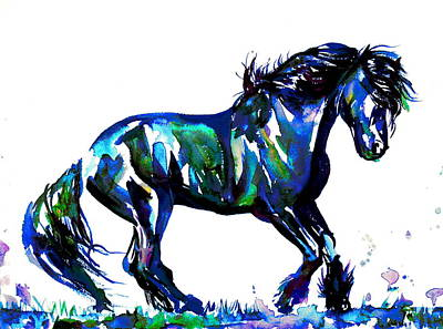 Painting - Horse Painting.39 by Fabrizio Cassetta