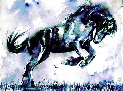 Painting - Horse Painting.41 by Fabrizio Cassetta