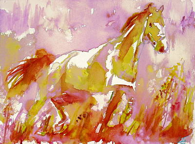 Painting - Horse Painting.43 by Fabrizio Cassetta