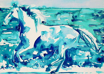 Painting - Horse Painting.44 by Fabrizio Cassetta