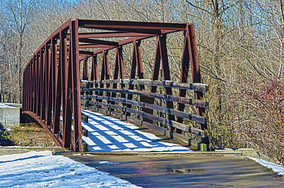 Photograph - Horse Pen Creek Bridge by Sandi OReilly
