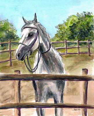 Painting - Horse Play by Clara Sue Beym
