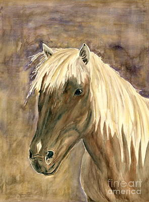 Painting - Horse Portrait Study by Melly Terpening