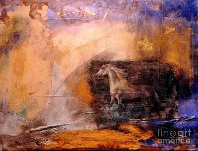 Painting - Horse Power by Julia  Walsh