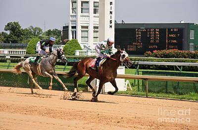 Kentucky Derby Photograph - Horse Racing by Jill Lang