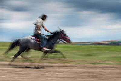 Photograph - Horse Racing by Okan YILMAZ