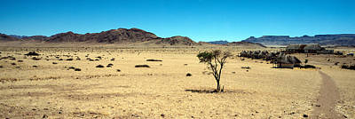 Horse Ranch On A Homestead, Namibia Art Print by Panoramic Images