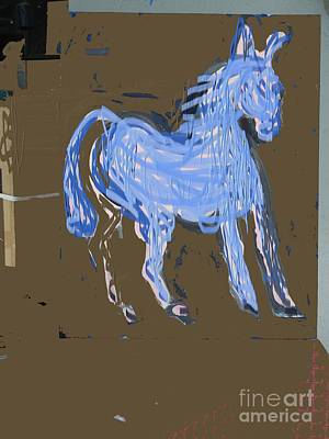 Painting - Horse Revisited by Jay Manne-Crusoe