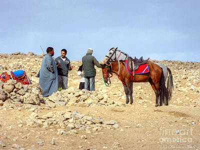 Photograph - Horse Riders by Karam Halim