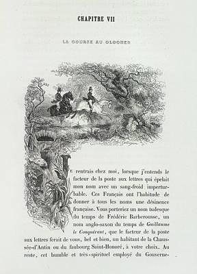 Horse Riding Art Print