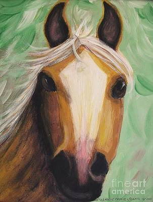 Painting - Horse by Suzanne  Marie Leclair