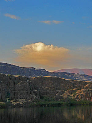 Photograph - Horse Thief Lake Bluffs by Jacqueline  DiAnne Wasson