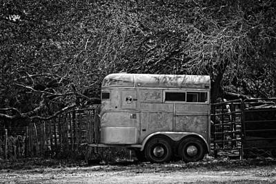 Photograph - Horse Trailer by Kim Henderson