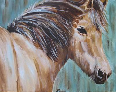 Horse Whisper Art Print