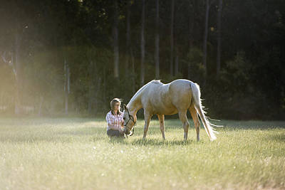 Photograph - Horse Whisperer by Joe Wigdahl