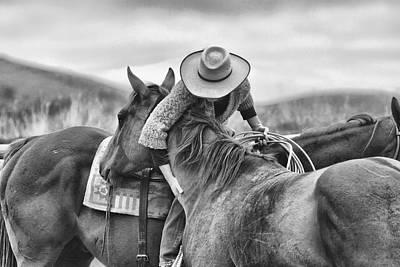 Working Cowboy Photograph - Horsemanship by Debbie Hamilton
