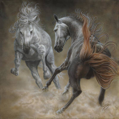 Horseplay II Original by Wayne Pruse