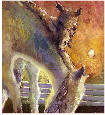 Painting - Horses by Daniel Bonnell