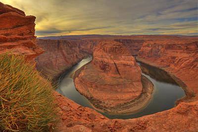 Photograph - Horseshoe Bend by Alan Vance Ley