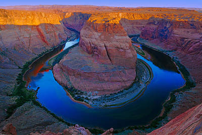 Photograph - Horseshoe Bend by Giovanni Allievi