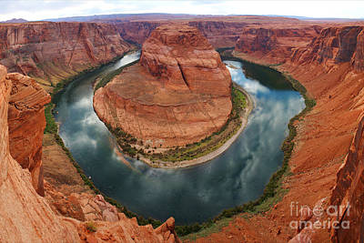 Photograph - Horseshoe Bend In Page by Benedict Heekwan Yang