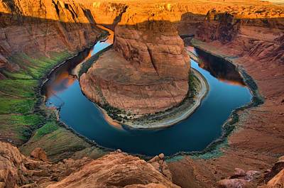 Horseshoe Bend In The Morning Art Print