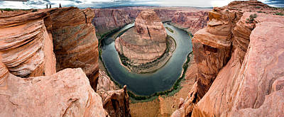 Photograph - Horseshoe Bend Panorama by Jim Snyder