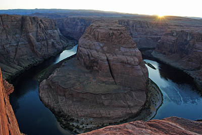 Photograph - Horseshoe Bend by Robert  Moss