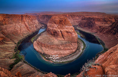 Photograph - Horseshoe Bend by Sheila Kay McIntyre