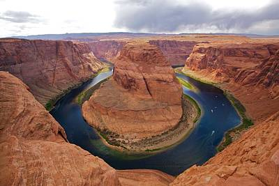 Horseshoe Bend View 1 Art Print