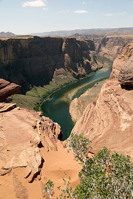 Photograph - Horseshoe Bend View by Gladys Turner Scheytt