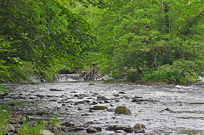 Photograph - Horseshoe Falls Llangollen by Jane McIlroy