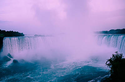 Crystal Wightman Rights Managed Images - Horseshoe Falls Mist Royalty-Free Image by Crystal Wightman