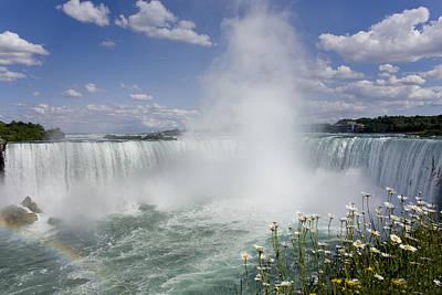 Horseshoe Falls, Niagara Falls Print by Peter Mintz