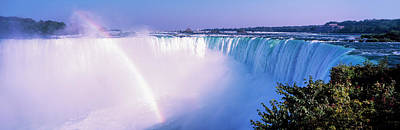 Horseshoe Falls With Rainbow, Niagara Print by Panoramic Images