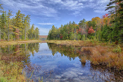 Horseshoe Lake Hdr 01 Art Print