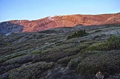 Photograph - Horseshoe Mountain by Aaron Spong