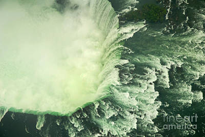 Photograph - Horseshow Falls From The Air by Brenda Kean