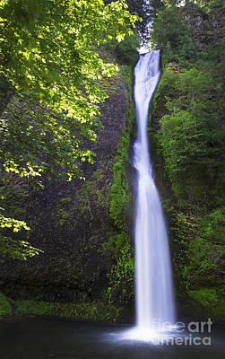 Photograph - Horsetail Falls 2 by Sonya Lang