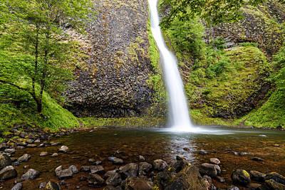 Photograph - Horsetail Falls - Columbia River Gorge Oregon by Silvio Ligutti