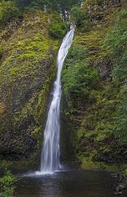 Oregon Photograph - Horsetail Falls by Loree Johnson