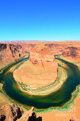 Photograph - Horseshoe Bend Vertical by Debra Thompson