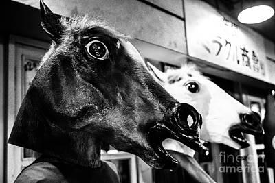 Photograph - Horsing by Dean Harte
