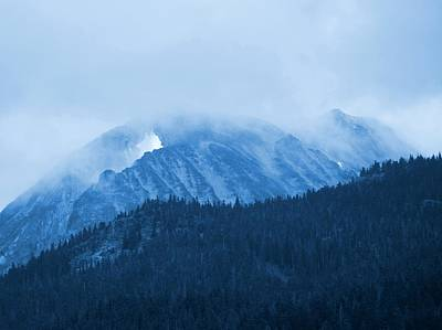 Photograph - Horstman Peak - Whistler by Amanda Holmes Tzafrir