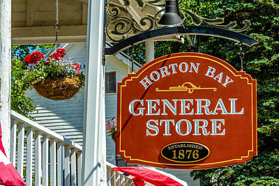 Photograph - Horton Bay General Store by Bill Gallagher