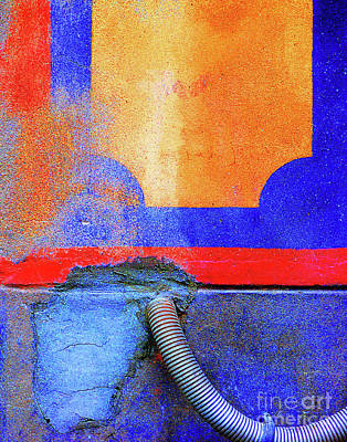 Art Print featuring the photograph Hosed by Newel Hunter