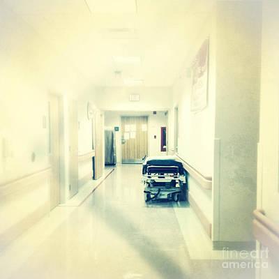 Hospital Hallway Art Print