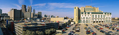 Healthcare And Medicine Photograph - Hospital In A City, Grady Memorial by Panoramic Images