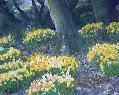 Painting - Host Of Daffodils by Richard James Digance